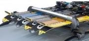 Кріплення для 6-х пар лиж або 4-х сноубордів  539E