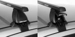 Подобрана комплектация багажника для автомобиля  Fiat Punto    , 5D хетчбек, выпуск 2013г.- с гладкой крышей