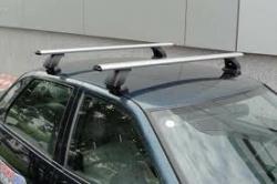 Підібрано комплектацію багажника для автомобіля Suzuki SX-4, 5D хетчбек, випуску  2006-12р., з гладким дахом