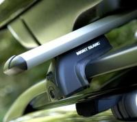 Багажник аеродинамічний на рейлінги Mont Blanc READY FIT 20 Alu