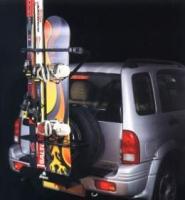 А К Ц И Я ! ! ! Крепление для 4-х пар лыж на заднее колесо внедорожника FAPA  3А240 MAGO