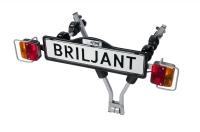 Кріплення  Briljant для двох велосипедів на фаркоп автомобіля