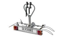 Кріплення Silverbike для двох велосипедів на фаркоп автомобіля