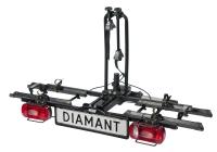 Кріплення Diamant black для двох велосипедів на фаркоп автомобіля